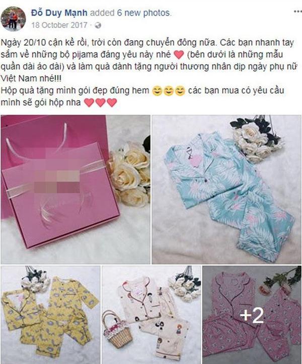 Hồng Duy bán son, Duy Mạnh lại bán đồ ngủ cho chị em, cầu thủ U23 đáng yêu hết nấc!-4