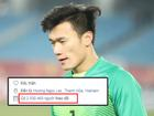 Chỉ sau 3 ngày, thủ môn Bùi Tiến Dũng trở thành Facebooker đình đám nhất Việt Nam: 2,5 triệu lượt follow