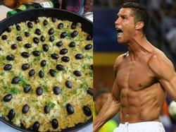 Bật mí món ăn yêu thích nhất của các siêu sao bóng đá