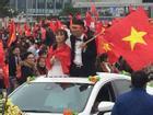 Đoàn xe dâu đặc biệt được cả triệu người chung vui trong ngày đón tuyển U23 trở về