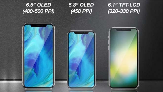 Chân dung và chức năng đầy đủ trên iPhone 2018 qua tin đồn-2