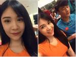 Livestream cùng 'thủ môn quốc dân' Bùi Tiến Dũng, Thanh Bi trở thành cô gái bị 'chị em ghen tỵ' nhất đêm qua