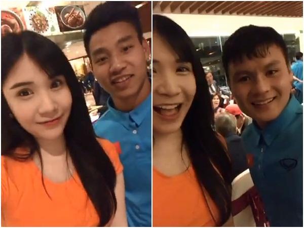 Livestream cùng thủ môn quốc dân Bùi Tiến Dũng, Thanh Bi trở thành cô gái bị chị em ghen tỵ nhất đêm qua-2