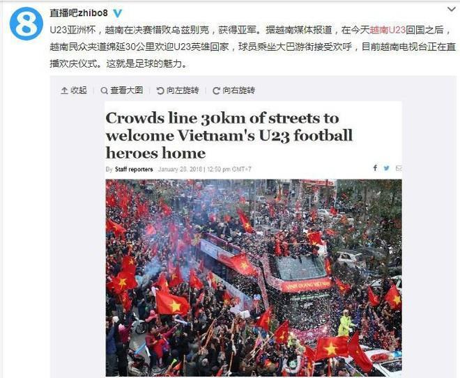 Trung Quốc sửng sốt trước những hình ảnh chào đón U23 trở về của người dân Việt Nam-5
