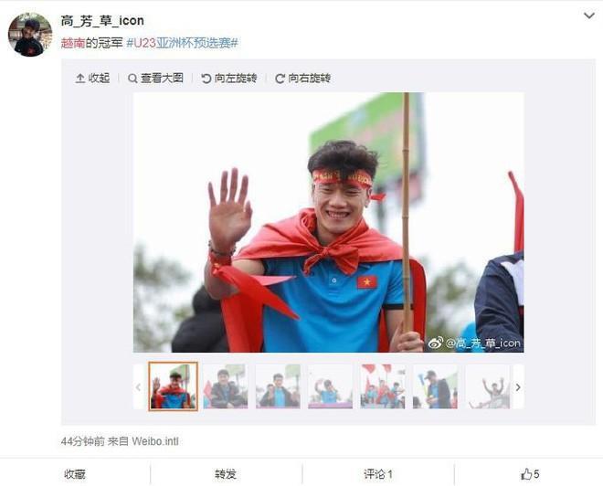 Trung Quốc sửng sốt trước những hình ảnh chào đón U23 trở về của người dân Việt Nam-7