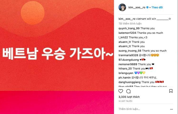 Big Bang Seungri gửi lời chúc mừng chiến thắng tới tuyển U23 Việt Nam bằng tiếng Việt-7