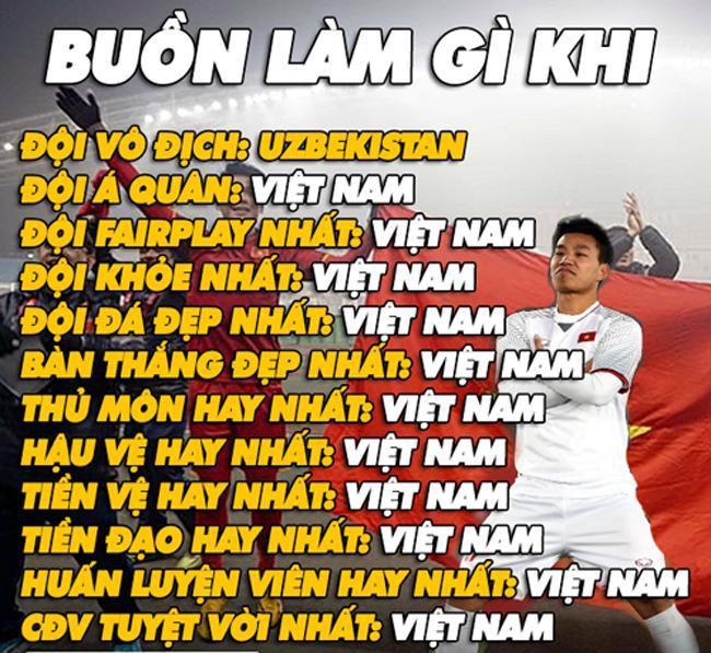 Cư dân mạng chế ảnh hài hước về U23 Việt Nam-11