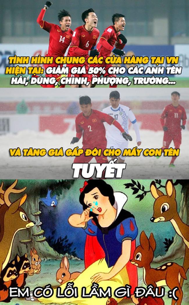 Cư dân mạng chế ảnh hài hước về U23 Việt Nam-4