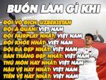 Cư dân mạng chế ảnh hài hước về U23 Việt Nam