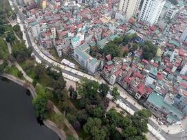 Toàn cảnh tuyến phố dài 600 m làm 17 năm mới xong