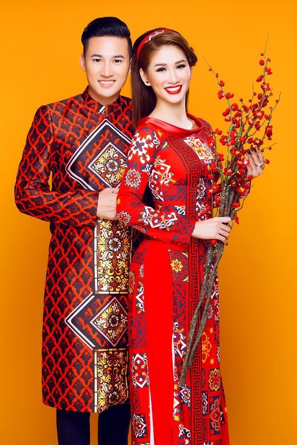 Người mẫu Quỳnh Thi gây thương nhớ với áo dài xuân-1