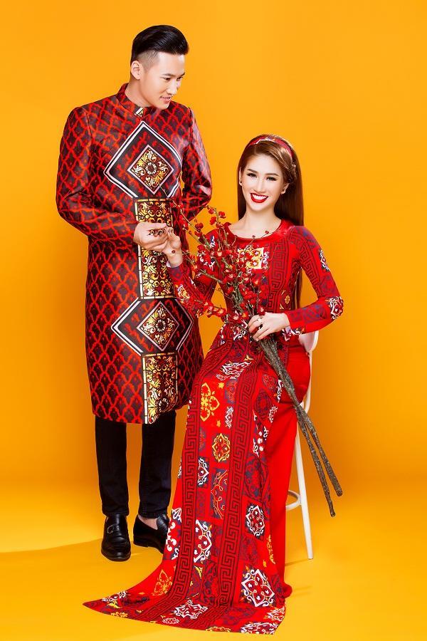 Người mẫu Quỳnh Thi gây thương nhớ với áo dài xuân-2