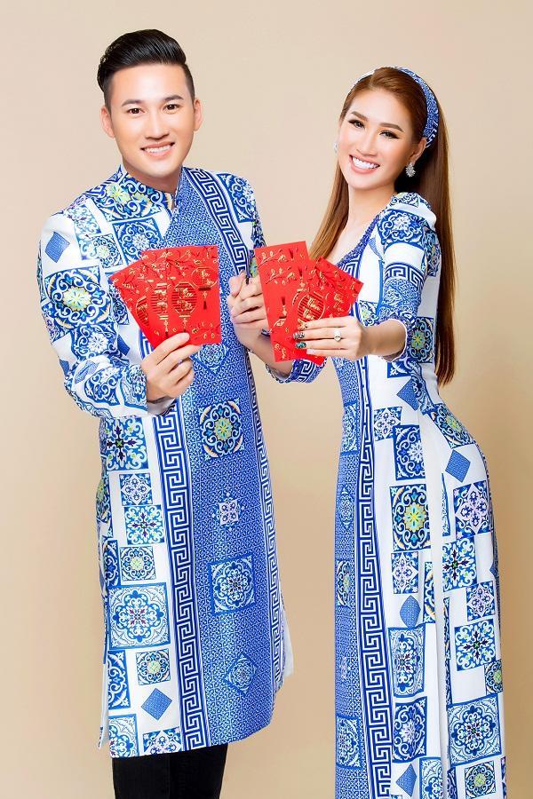 Người mẫu Quỳnh Thi gây thương nhớ với áo dài xuân-5