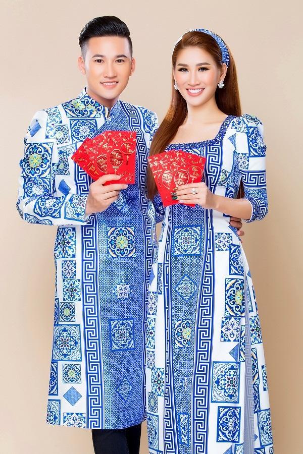 Người mẫu Quỳnh Thi gây thương nhớ với áo dài xuân-6
