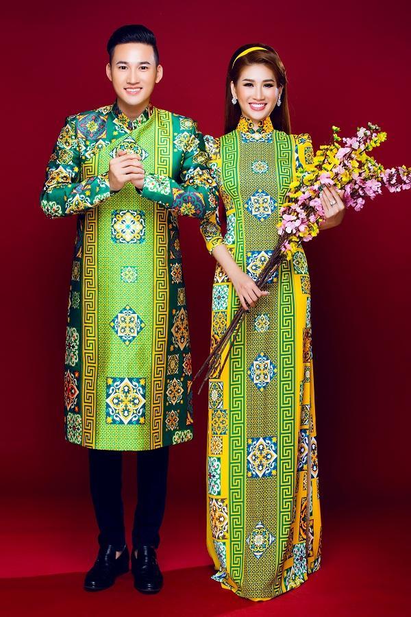 Người mẫu Quỳnh Thi gây thương nhớ với áo dài xuân-7