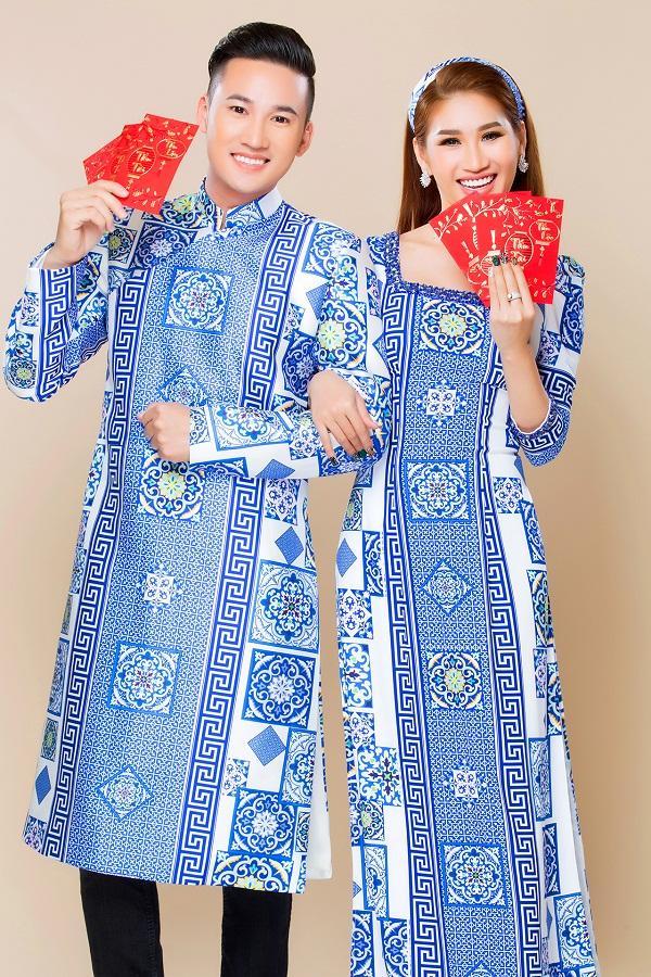 Người mẫu Quỳnh Thi gây thương nhớ với áo dài xuân-8