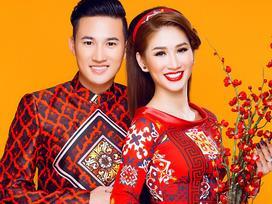 Người mẫu Quỳnh Thi gây thương nhớ với áo dài xuân