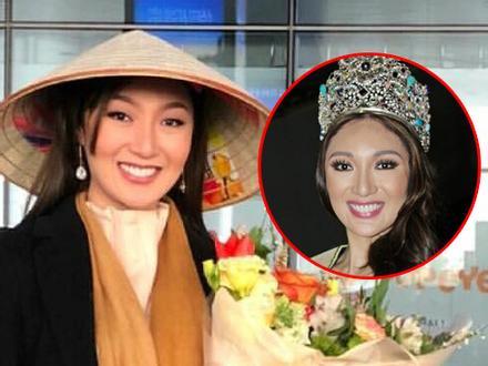 Hoa hậu Trái Đất bị chê xấu bất ngờ có mặt tại Việt Nam