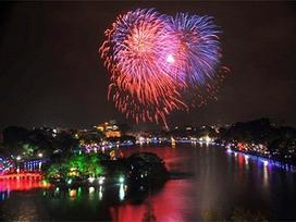 Hà Nội: Dự kiến bắn pháo hoa 30 phút tại Hồ Hoàn Kiếm trong đêm giao thừa
