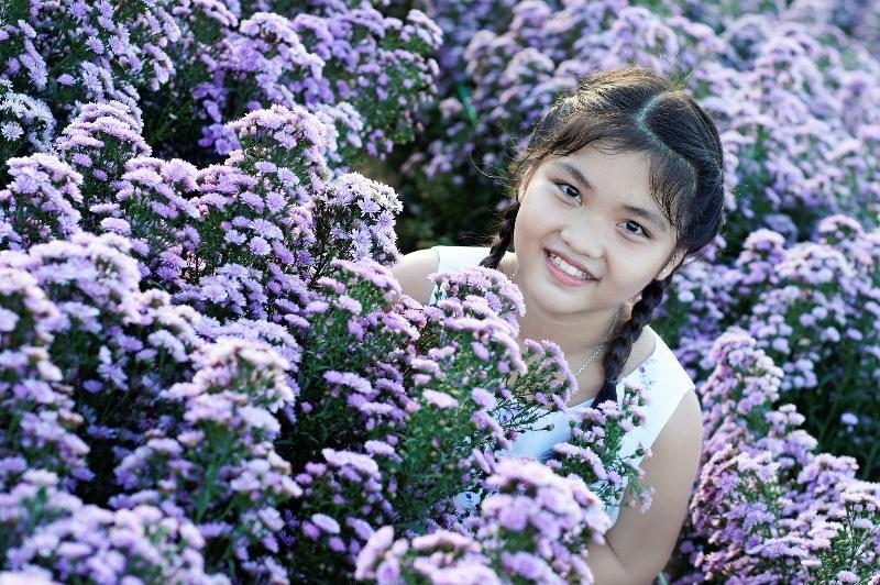 Vườn hoa thạch thảo tím lịm, đốn tim các thánh sống ảo-4