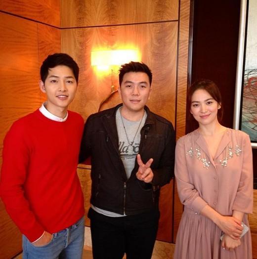 Sao Hàn 31/1: Tiết lộ bức ảnh cũ của Song Joong Ki và Song Hye Kyo-1