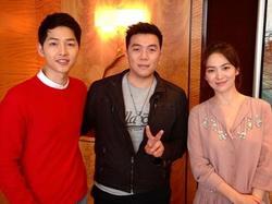 Sao Hàn 31/1: Tiết lộ bức ảnh cũ của Song Joong Ki và Song Hye Kyo