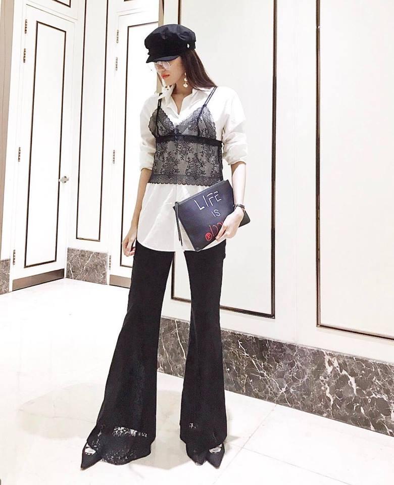 Kim Lý - Hồ Ngọc Hà chiếm bảng street style bởi outfit đẹp xuất sắc-4