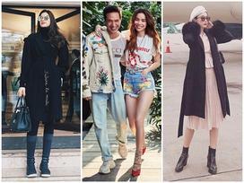 Kim Lý - Hồ Ngọc Hà chiếm bảng street style bởi outfit đẹp xuất sắc