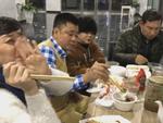 Clip: Cám cảnh bữa ăn tối vào lúc 10h khuya của dàn nghệ sĩ đóng Táo Quân 2018