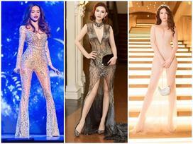 Sao Việt thích diện váy áo trong suốt dễ gây 'nguy hiểm', khiến người đối diện hoa cả mắt!