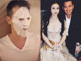 Hot girl - hot boy Việt: Huyền Baby tố ông xã dùng trộm mặt nạ dưỡng da
