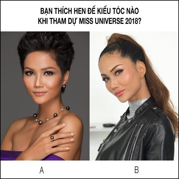 Dân mạng phản đối HHen Niê để tóc dài nếu muốn chinh phục vương miện Hoa hậu Hoàn vũ Thế giới 2018-2
