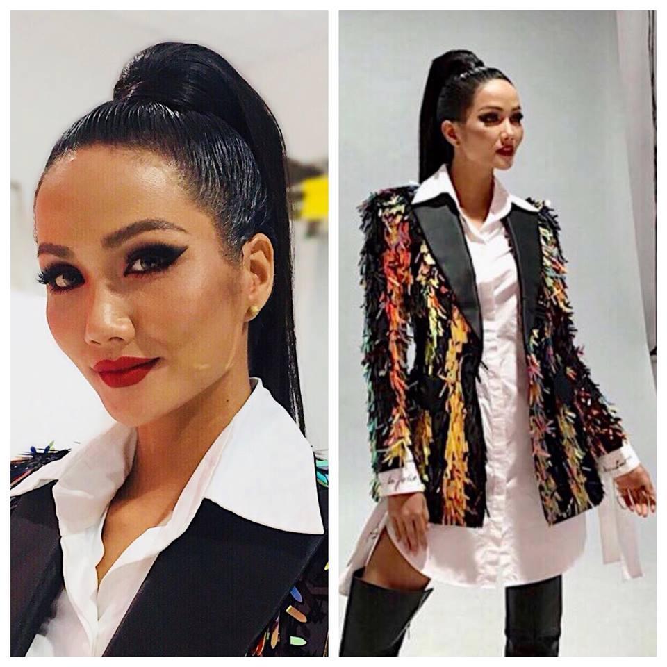 Dân mạng phản đối HHen Niê để tóc dài nếu muốn chinh phục vương miện Hoa hậu Hoàn vũ Thế giới 2018-5