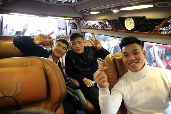 Dàn tuyển thủ U23 Việt Nam được bay sang chảnh hạng thương gia khi đến TP.HCM-4