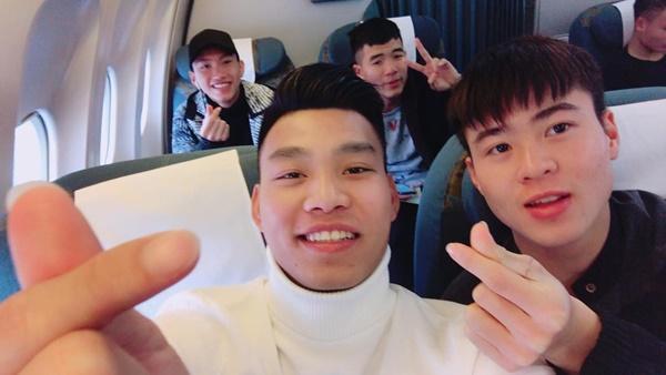 Dàn tuyển thủ U23 Việt Nam được bay sang chảnh hạng thương gia khi đến TP.HCM-5