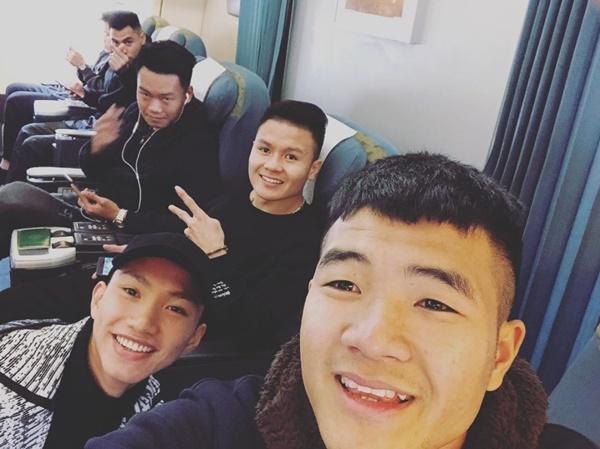 Dàn tuyển thủ U23 Việt Nam được bay sang chảnh hạng thương gia khi đến TP.HCM-6