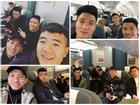 Dàn tuyển thủ U23 Việt Nam được bay sang chảnh hạng thương gia khi đến TP.HCM