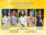 Ngắm dung nhan tuyệt sắc của top 5 Hoa hậu đẹp nhất Thế giới năm 2017
