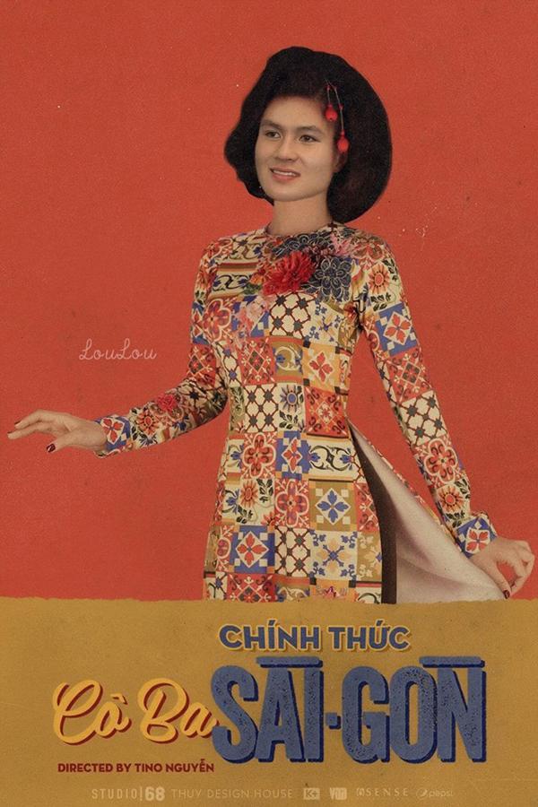 Cười 'không nhặt được mồm' với poster Cô Ba Sài Gòn phiên bản U23 Việt Nam-7