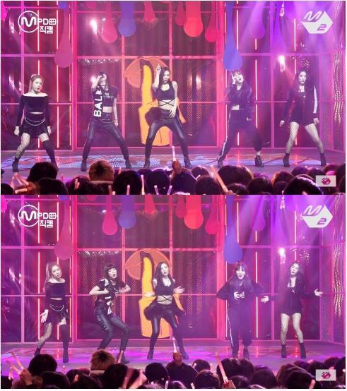 Hết bị ném đá trang phục phản cảm, Red Velvet lại bị chê nhảy không đều-1