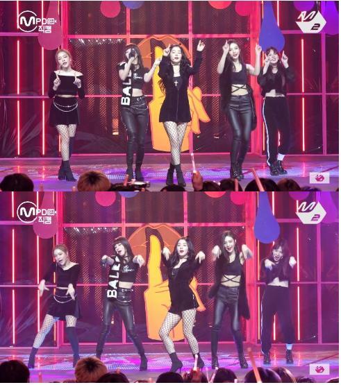 Hết bị ném đá trang phục phản cảm, Red Velvet lại bị chê nhảy không đều-2