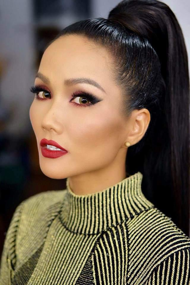 Hoa hậu HHen Niê bất ngờ để tóc dài, diện thiết kế đụng hàng Tóc Tiên-1