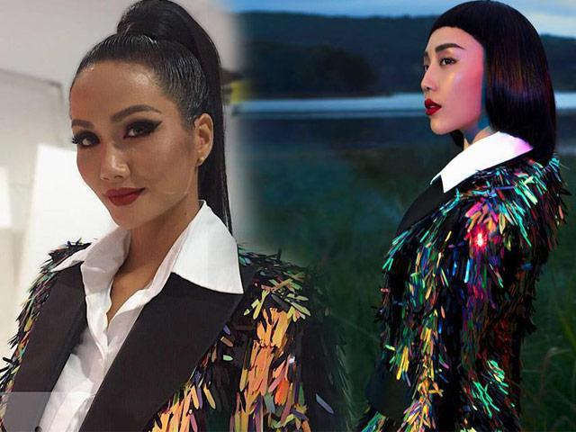 Hoa hậu HHen Niê bất ngờ để tóc dài, diện thiết kế đụng hàng Tóc Tiên-4