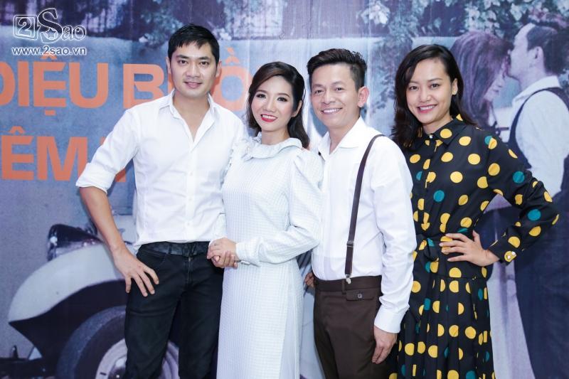 Hồng Ánh sánh đôi Minh Luân đến chúc mừng MV 400 triệu của Tuấn Tú Bolero-1