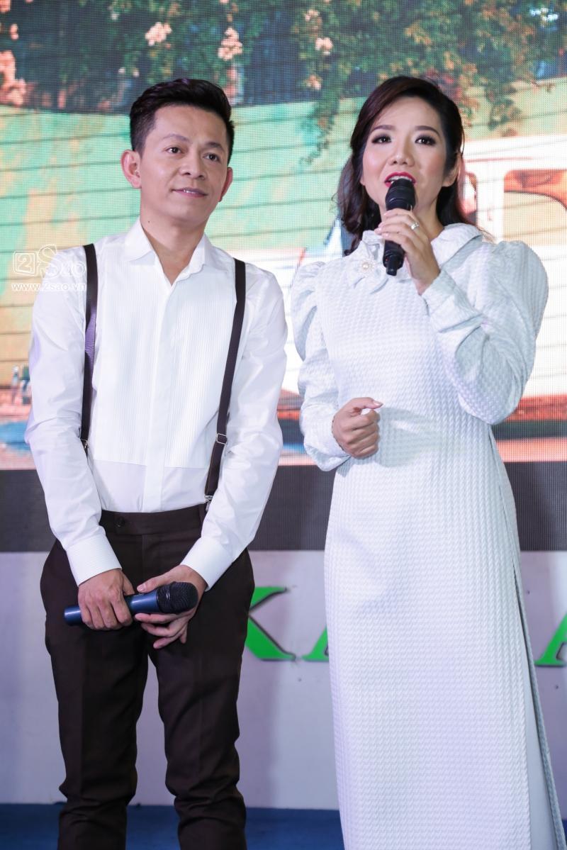 Hồng Ánh sánh đôi Minh Luân đến chúc mừng MV 400 triệu của Tuấn Tú Bolero-8