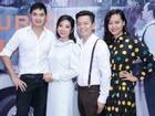 Hồng Ánh sánh đôi Minh Luân đến chúc mừng MV 400 triệu của Tuấn Tú Bolero
