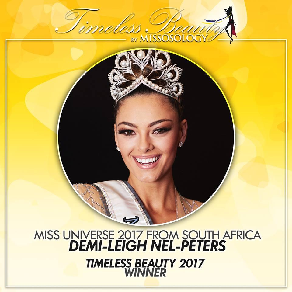 Đương kim Hoa hậu Hoàn vũ chiến thắng giải Hoa hậu đẹp nhất thế giới năm 2017-1