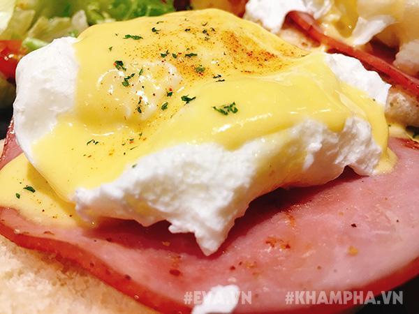 Món trứng chần 135 nghìn đồng khiến tín đồ ăn uống Sài thành xôn xao sống ảo-4