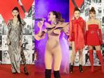 Linh Chi mặc váy hở trên xẻ dưới, đứng đầu top sao mặc xấu tuần qua-10