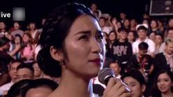 Dự giải nhưng không được trao giải, Hòa Minzy gây sốt vì phát biểu quá 'lầy lội'